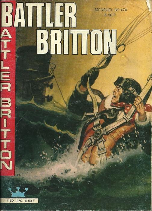 Couverture de Battler Britton -470- Les aigles