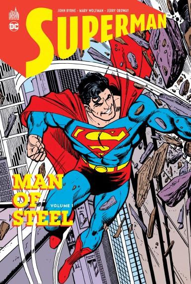 Couverture de Superman - Man of Steel -1- Volume 1