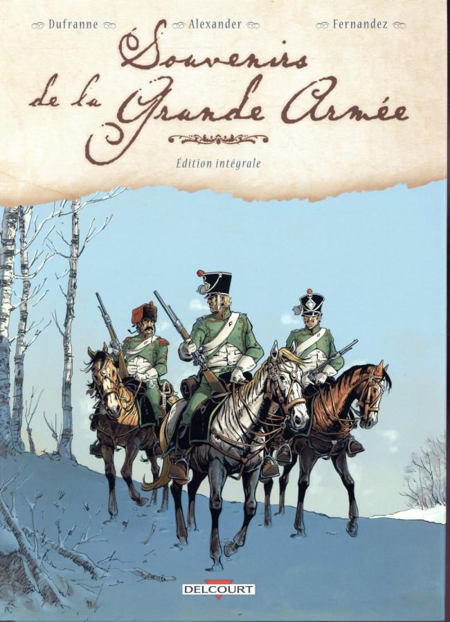 Couverture de Souvenirs de la Grande Armée -INT- Edition Intégrale