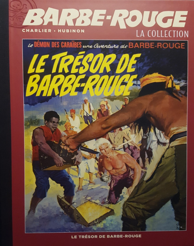 Couverture de Barbe-Rouge (Eaglemoss) -11- Le Trésor de Barbe-Rouge