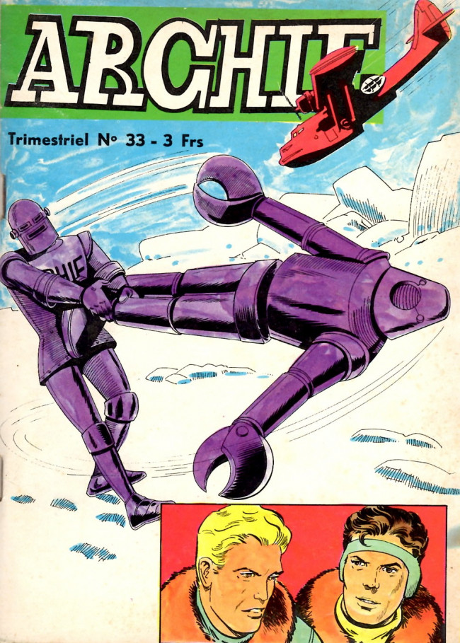 Couverture de Archie (Jeunesse et Vacances) -33- ARCHIE - Le génie du mal