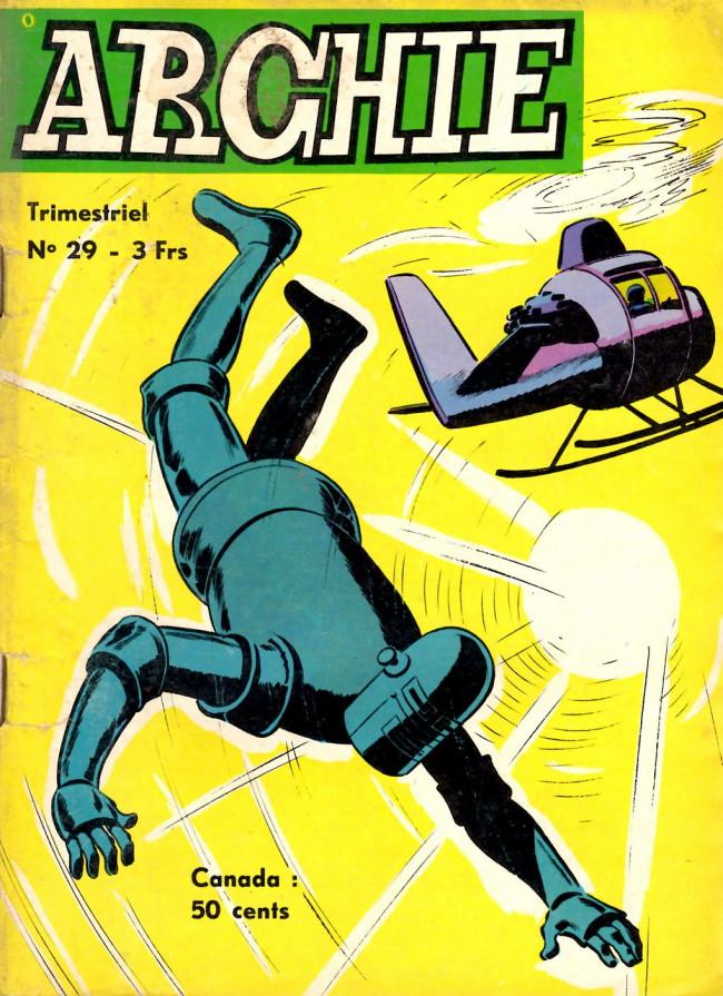 Couverture de Archie (Jeunesse et Vacances) -29- ARCHIE - Combat contre la Jungle