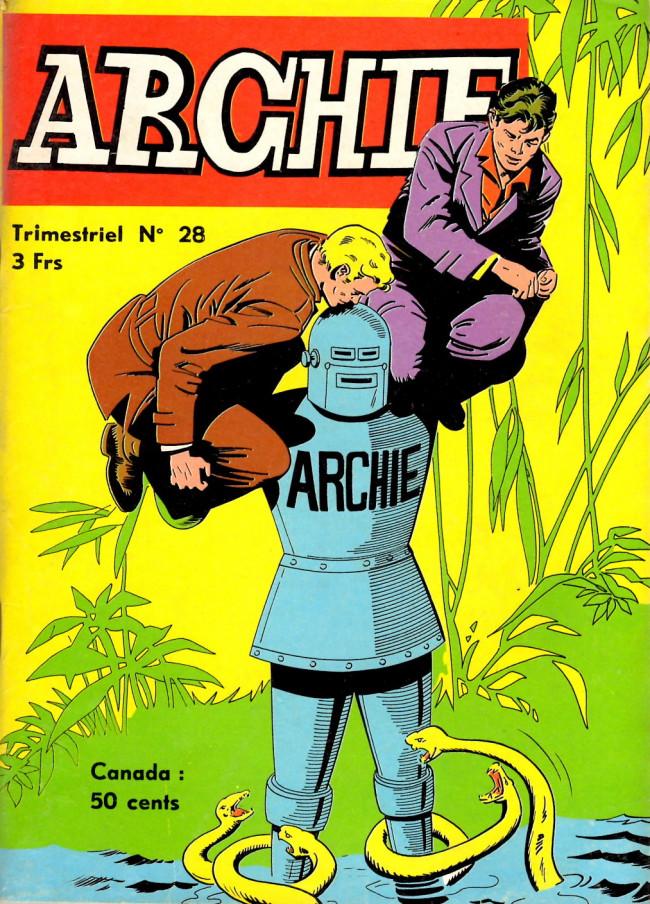 Couverture de Archie (Jeunesse et Vacances) -28- ARCHIE - Terreur sur Birmingham