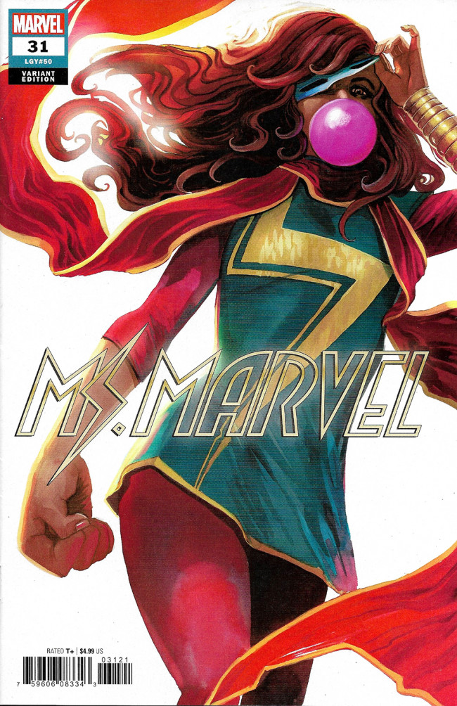 Couverture de Ms. Marvel (2016) -31B- One Night Only