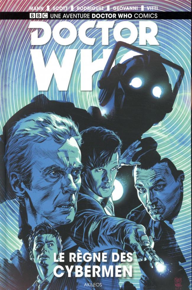 Couverture de Doctor who - Le règne des cybermen
