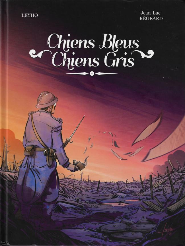 Couverture de Chiens Bleus, Chiens Gris - Chiens bleus, chiens gris