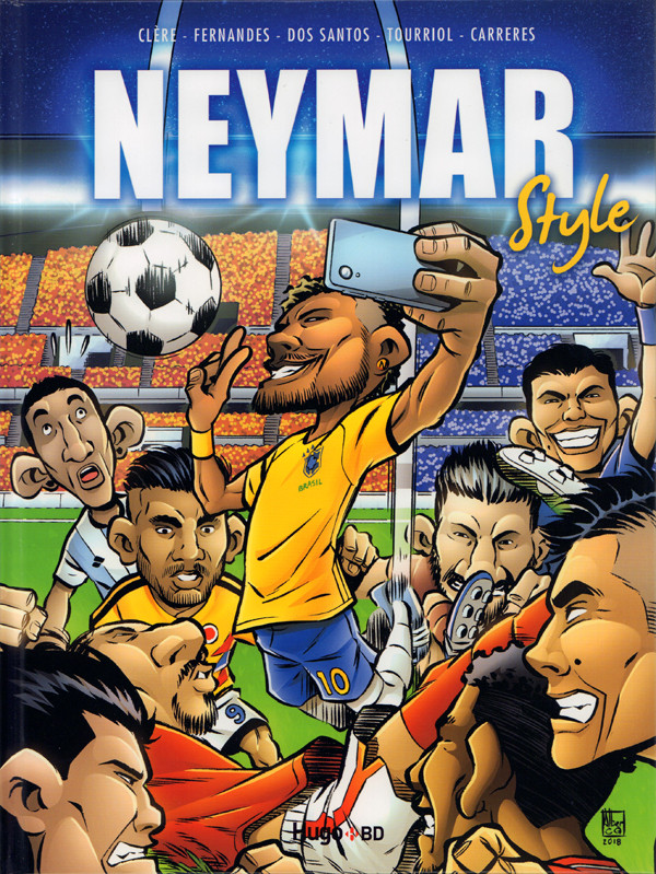 Couverture de Neymar style