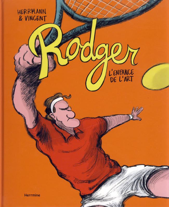 Couverture de Rodger l'enfance de l'art