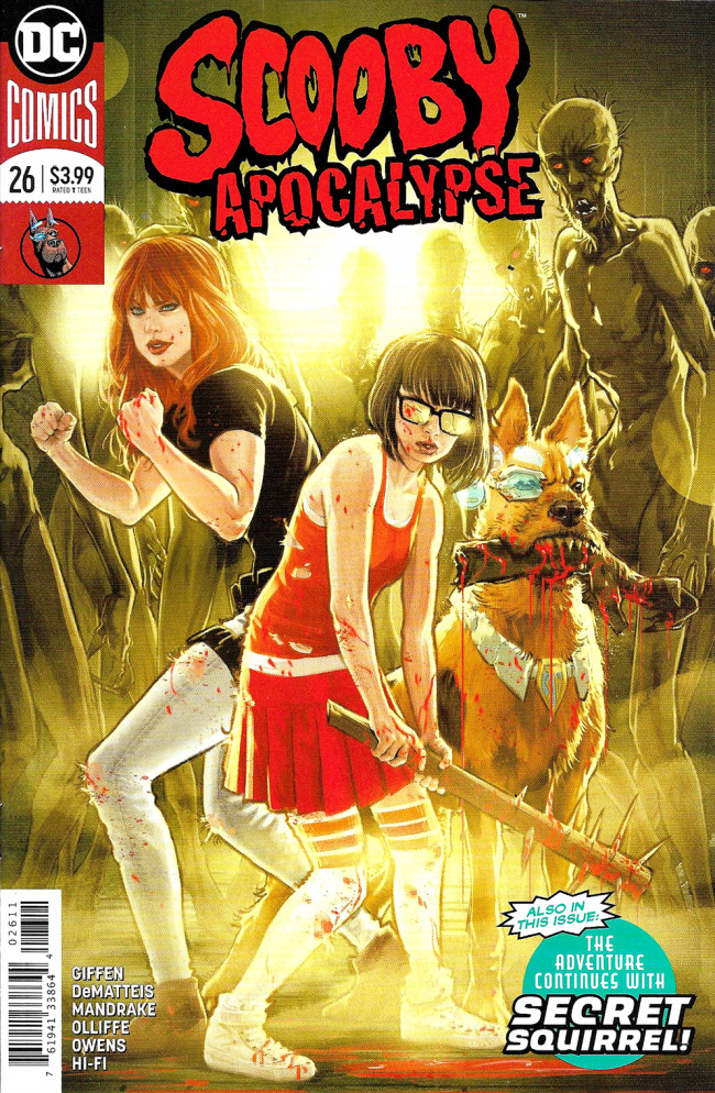 Couverture de Scooby Apocalypse (2016) -26- Afterlives