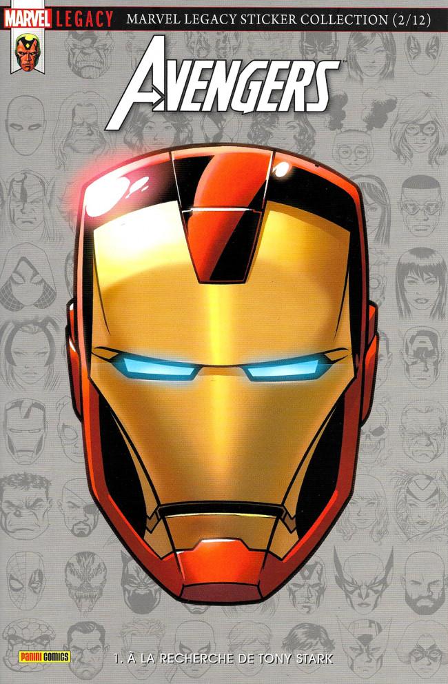 Couverture de Marvel Legacy - Avengers (Marvel France - 2018) -1- À la recherche de Tony Stark