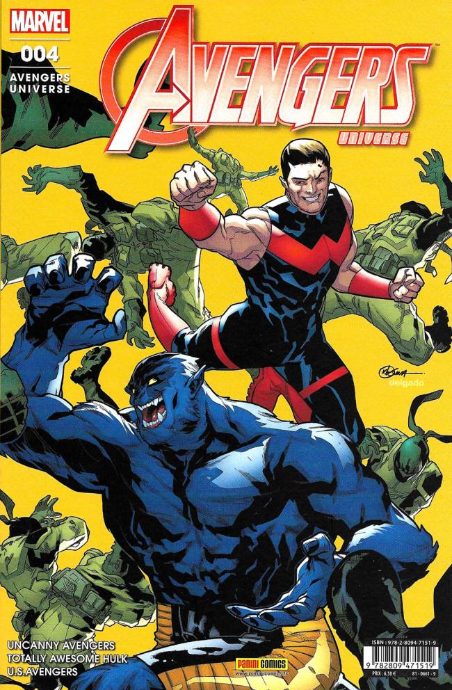 Couverture de Avengers Universe (2e série - 2017) -4- Honneurs et récompenses