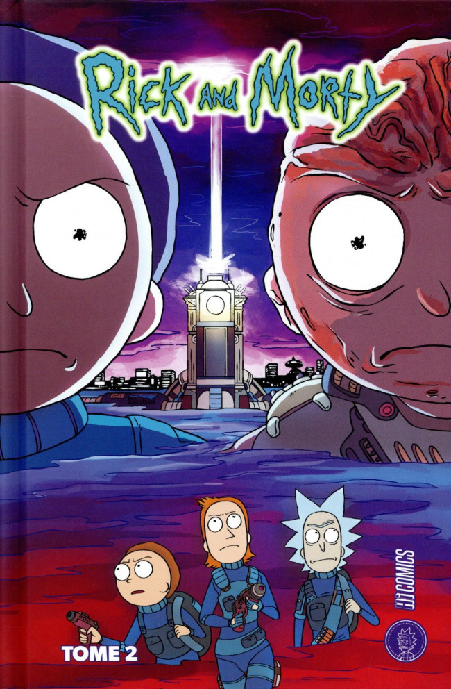 Couverture de Rick and Morty -2- Tome 2