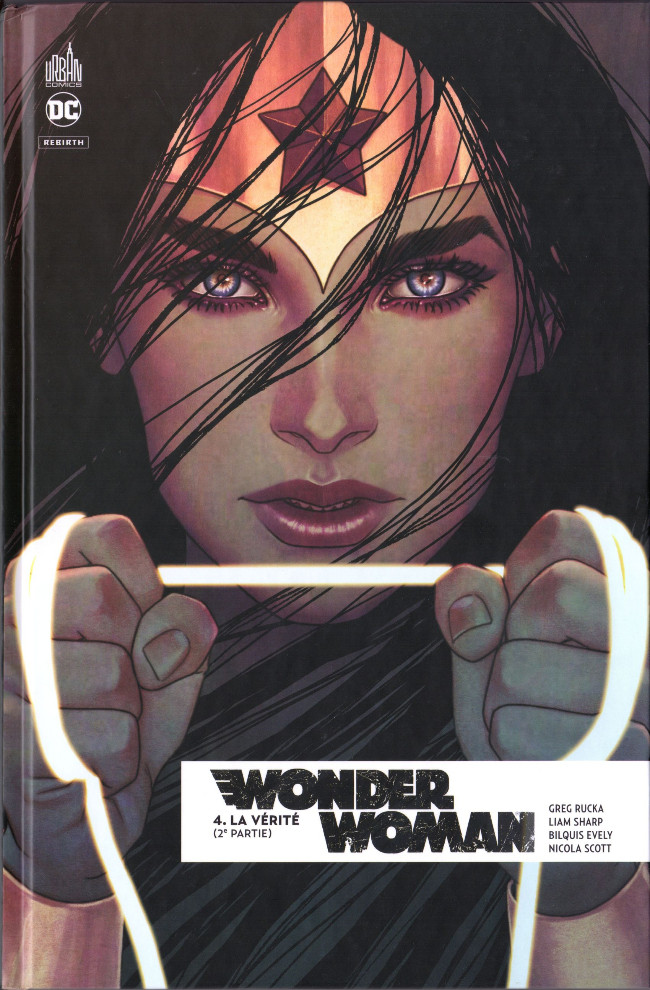 Couverture de Wonder Woman Rebirth -4- La vérité (2e partie)