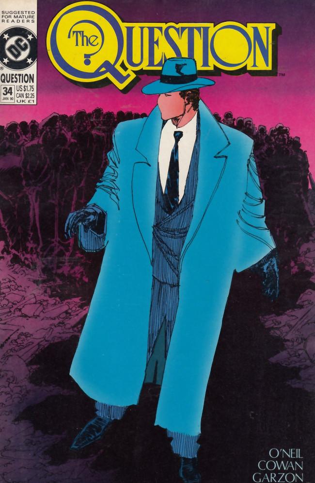 Couverture de Question (The) (1987) -34- ...Were It Not That I Have Bad Dreams...