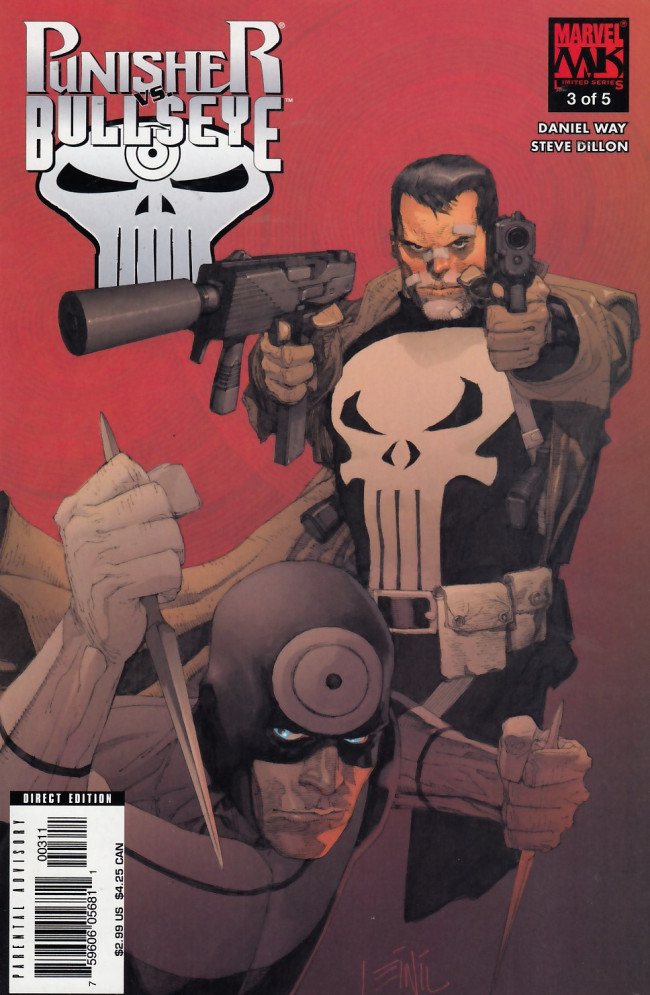 Couverture de Punisher vs. Bullseye -3- Massacre on 34th Street