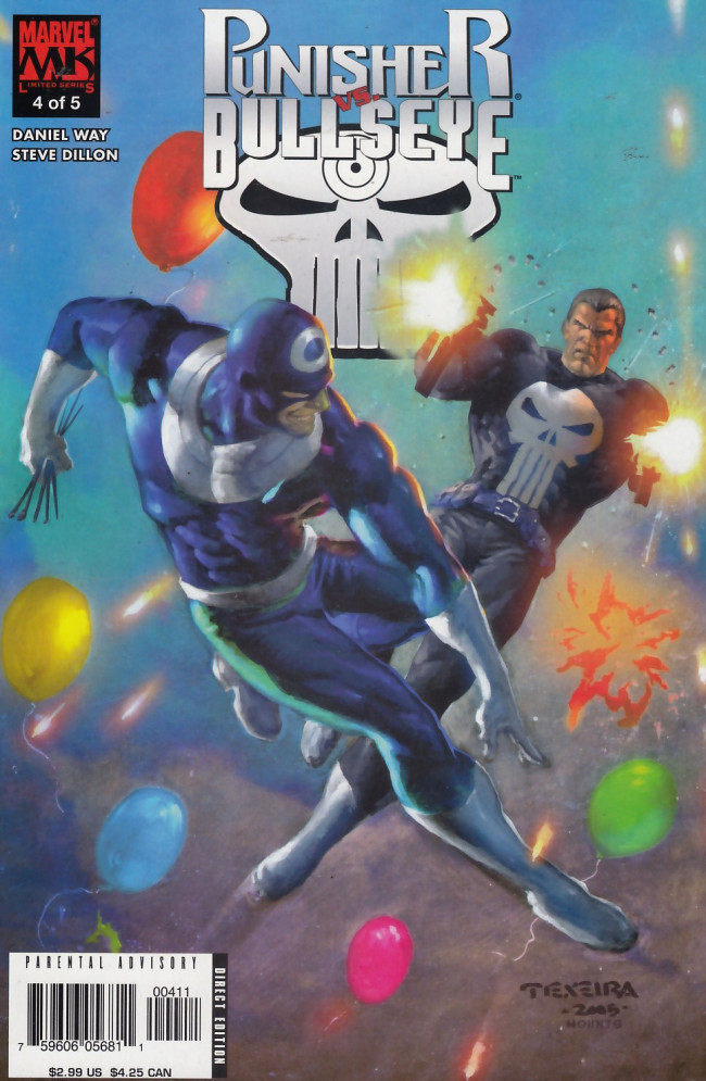 Couverture de Punisher vs. Bullseye -4- Two of a Kind