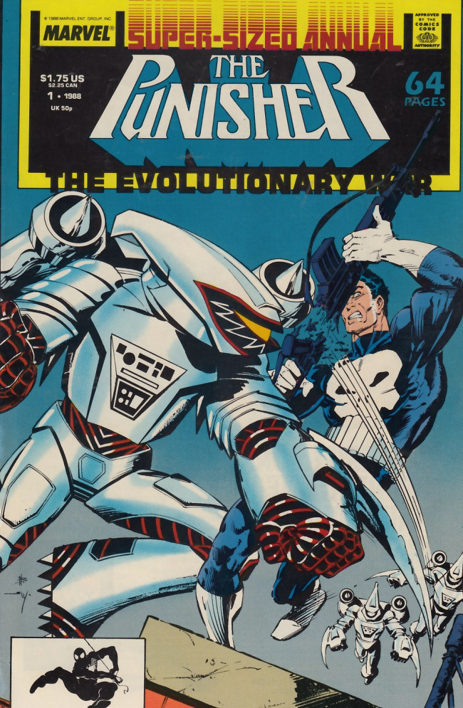 Couverture de Punisher (1987) (The) -AN01- Evolutionary Jihad
