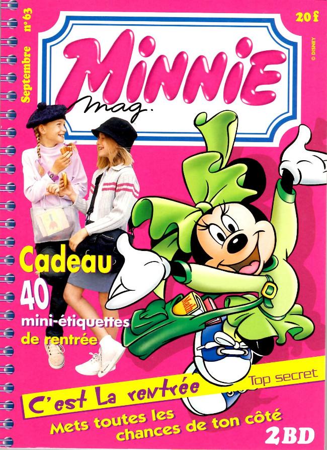 Couverture de Minnie mag -63- Numéro 63