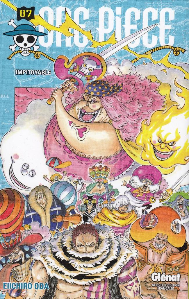 Couverture de One Piece -87- Impitoyable