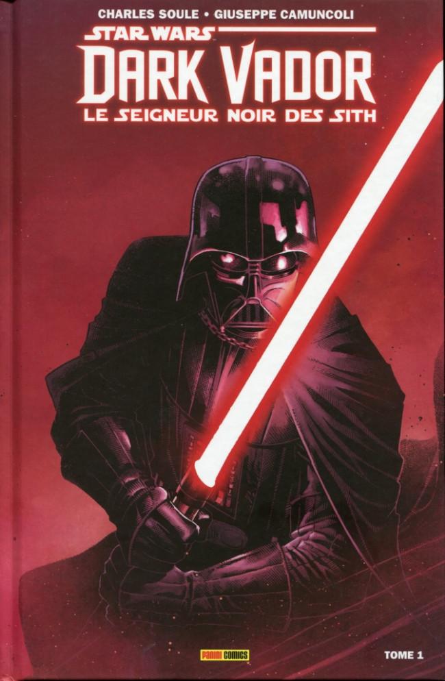 Couverture de Star Wars - Dark Vador : Le Seigneur noir des Sith -1- L'Élu