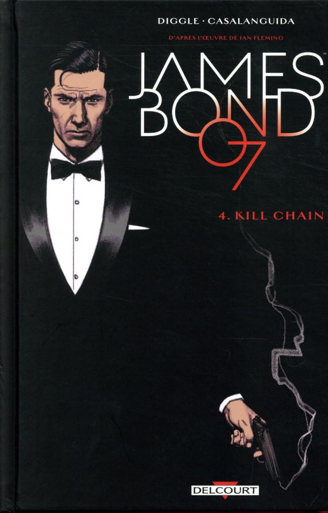 Couverture de James Bond (Delcourt) -4- Kill Chain