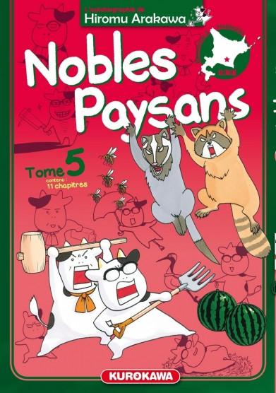 Couverture de Nobles paysans -5- Tome 5