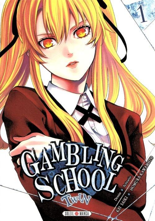 Couverture de Gambling School - Twin -1- Volume 1