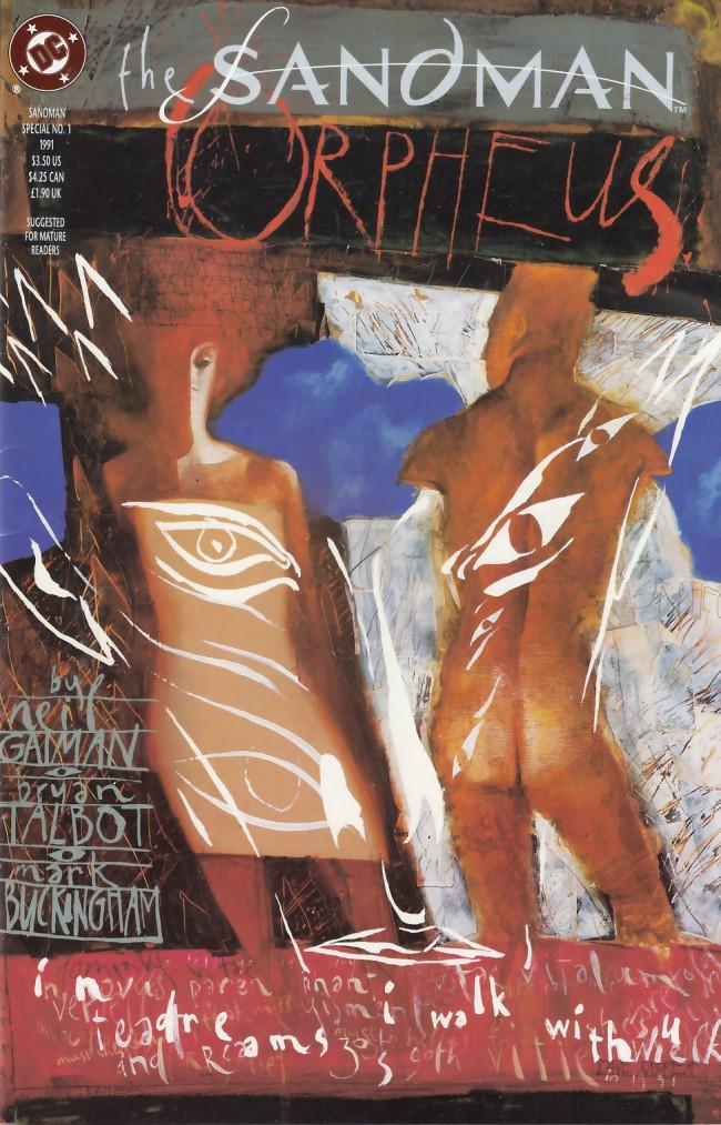 Couverture de Sandman (The) (1989) -SP01- The Sandman: Orpheus