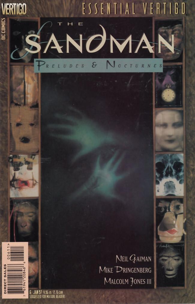 Couverture de Essential Vertigo: The Sandman (1996) -6- 24 Hours Diner