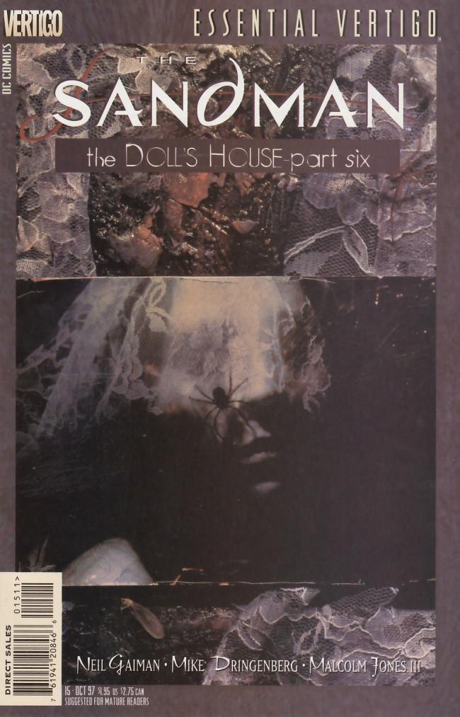 Couverture de Essential Vertigo: The Sandman (1996) -15- Into the Night