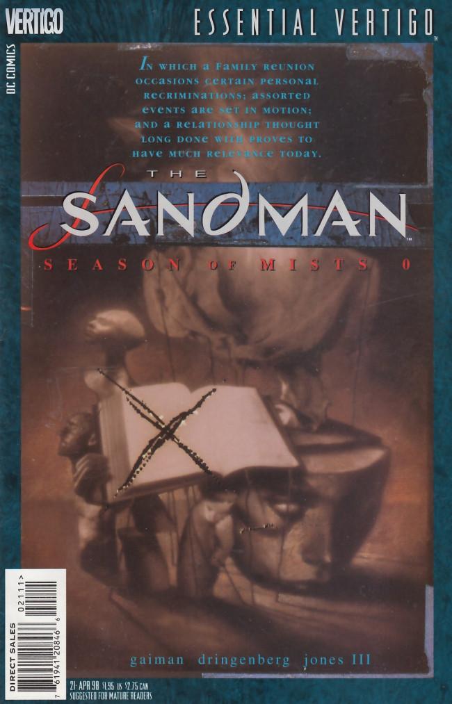 Couverture de Essential Vertigo: The Sandman (1996) -21- Season of Mists: A Prologue