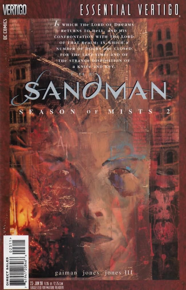 Couverture de Essential Vertigo: The Sandman (1996) -23- Season of Mists Chapter 2