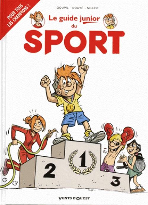 Couverture de Les guides Junior -20- Le sport