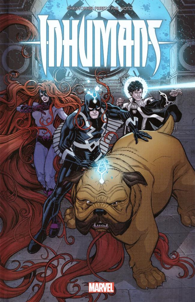 Couverture de Inhumans : Rois d'hier et de demain