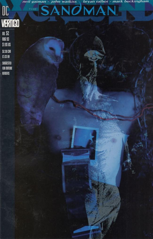 Couverture de Sandman (The) (1989) -52- Cluracan's tale