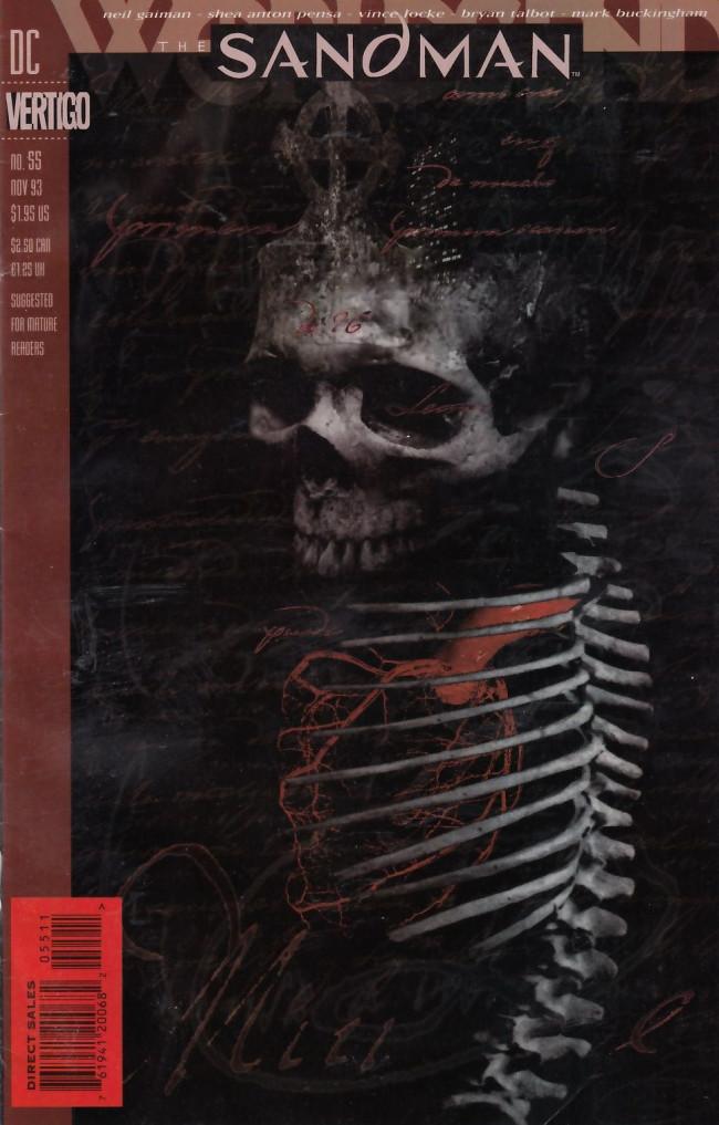 Couverture de Sandman (The) (1989) -55- World's End