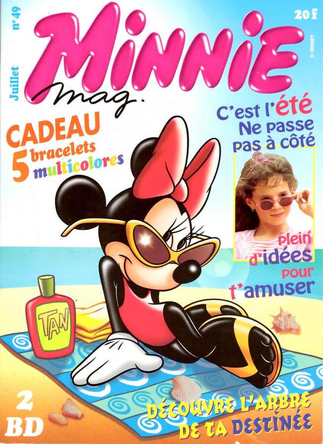 Couverture de Minnie mag -49- Numéro 49