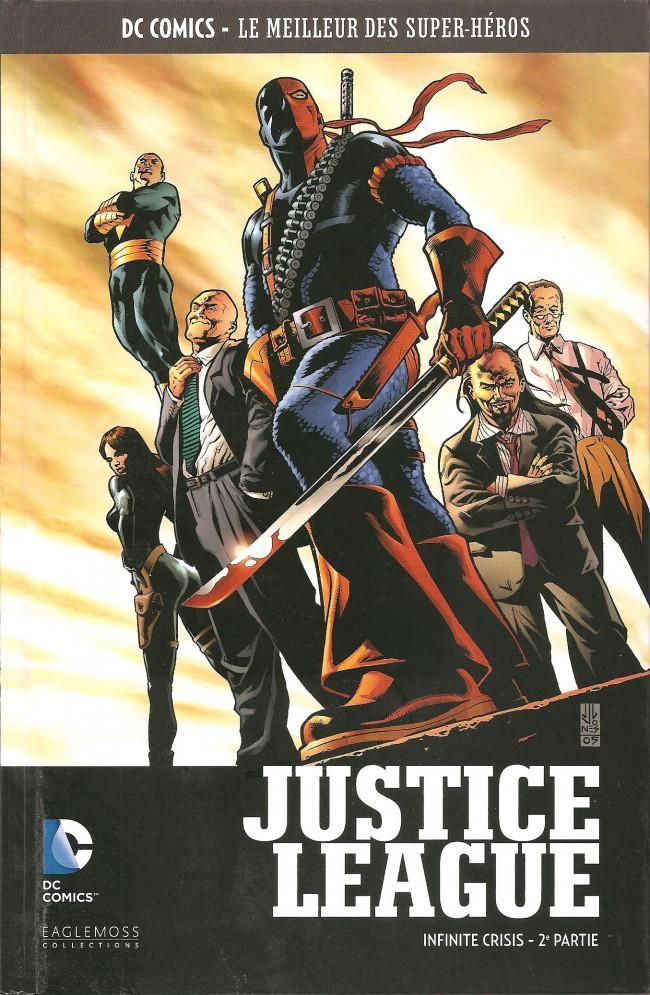Couverture de DC Comics - Le Meilleur des Super-Héros -HS09-  Justice League - Infinite Crisis - 2e partie