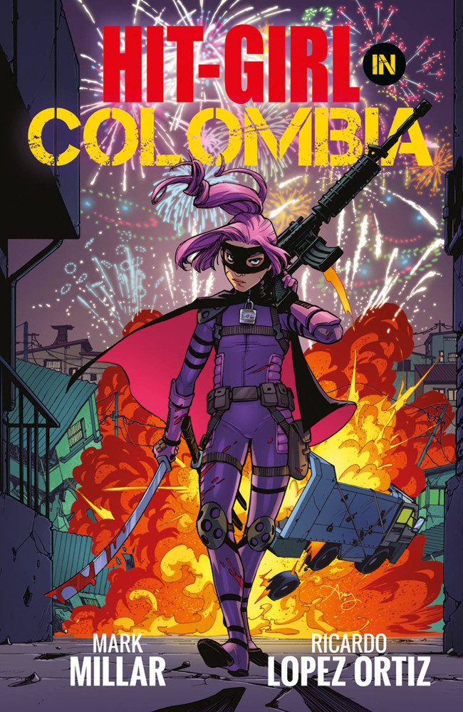 Couverture de Hit-Girl (2018) -INT1- Hit-Girl in Colombia