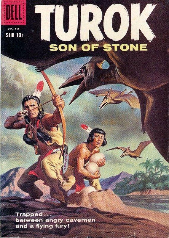 Couverture de Turok, son of stone (Dell - 1956) -14- (sans titre)