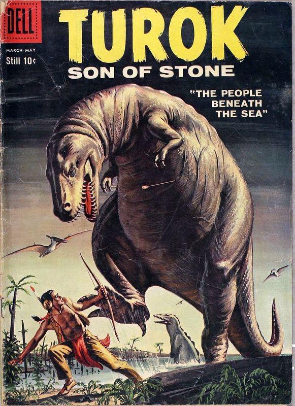 Couverture de Turok, son of stone (Dell - 1956) -15-