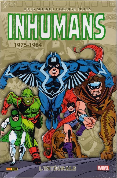 Couverture de Inhumans (L'intégrale) -2- 1975-1984