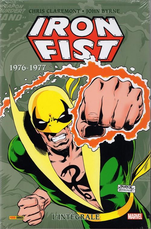 Couverture de Iron Fist (L'Intégrale) -2- 1976-1977