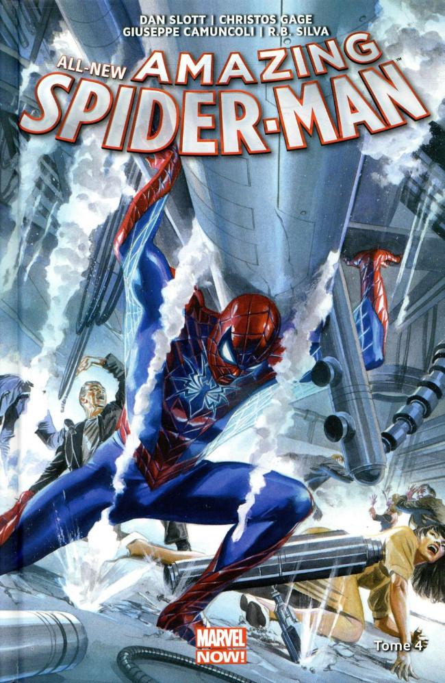 Couverture de All-New Amazing Spider-Man (Marvel Now!) -4- D'entre les morts