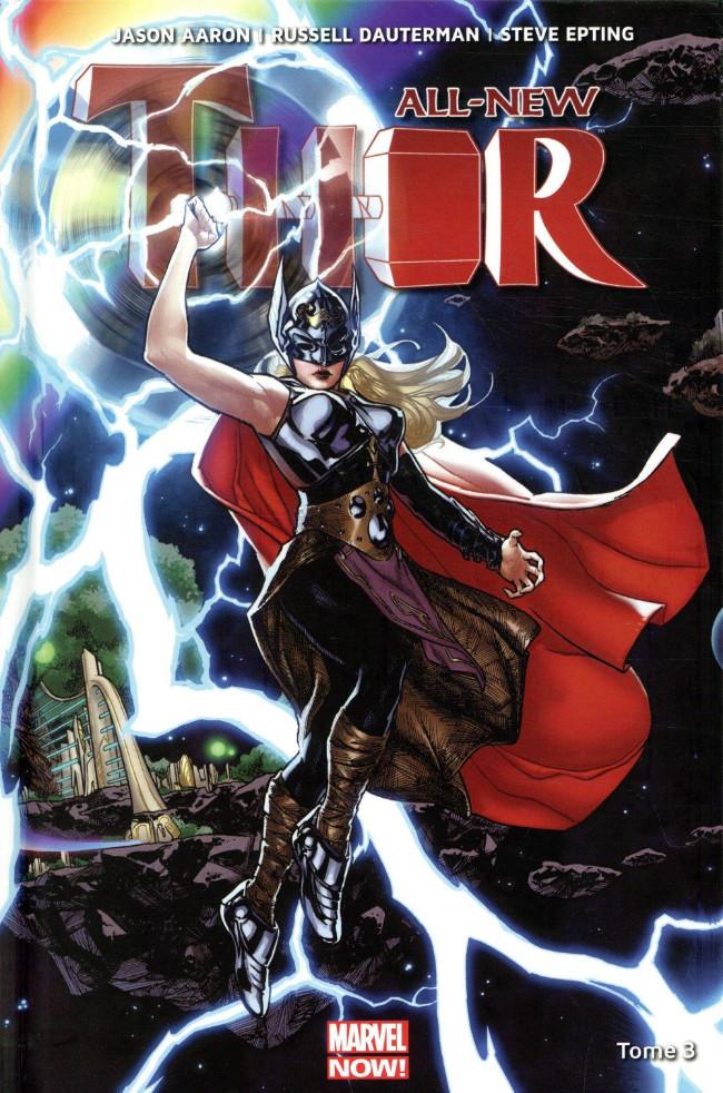 Couverture de All-New Thor -3- La Guerre Asgard / Shi'ars