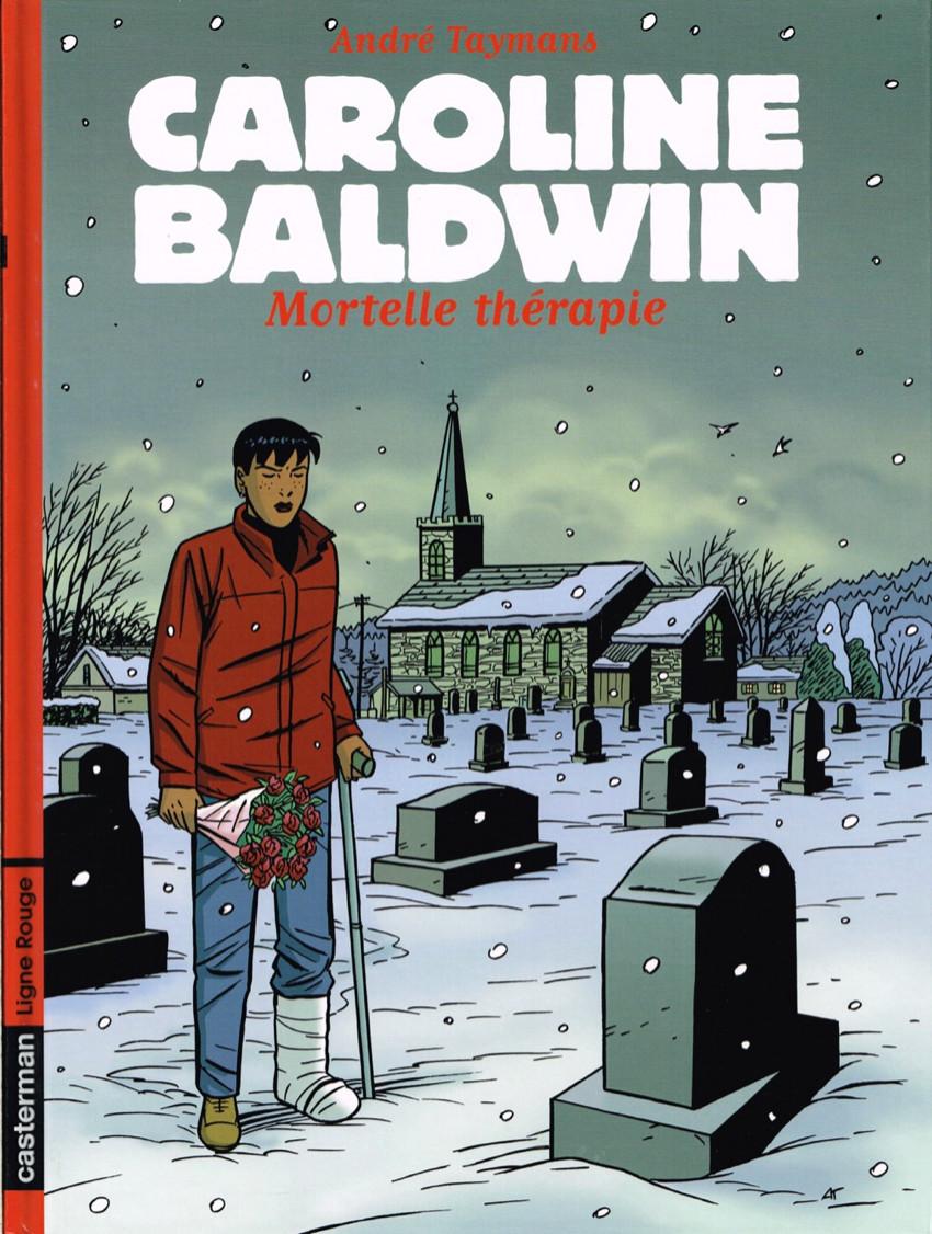 Couverture de Caroline Baldwin -10- Mortelle thérapie