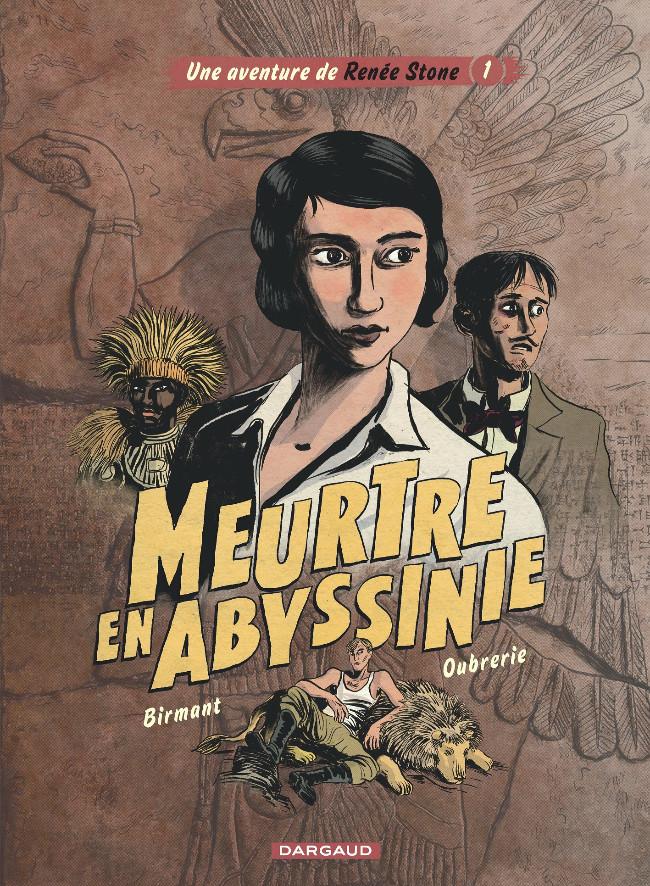 Couverture de Renée Stone (Une aventure de) -1- Meurtre en Abyssinie