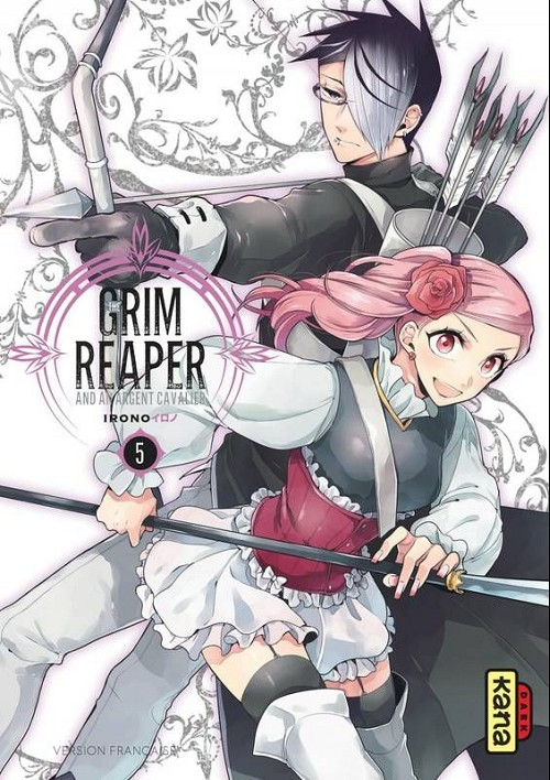 Couverture de Grim Reaper and an argent cavalier (The) -5- Tome 5
