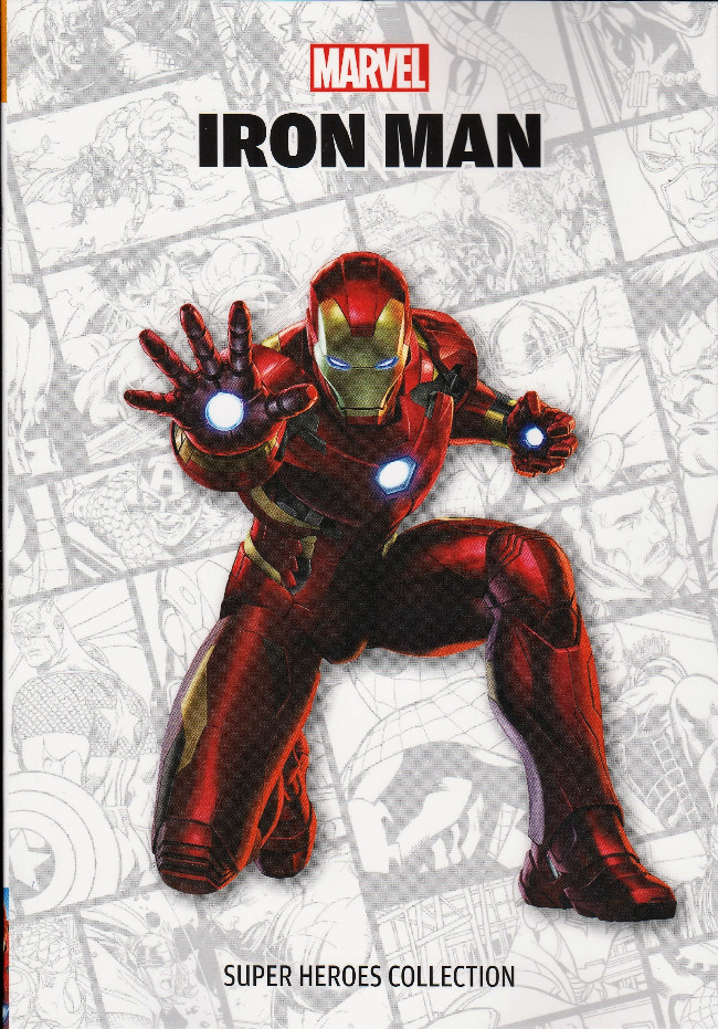 Couverture de Super Heroes Collection -6- Iron Man