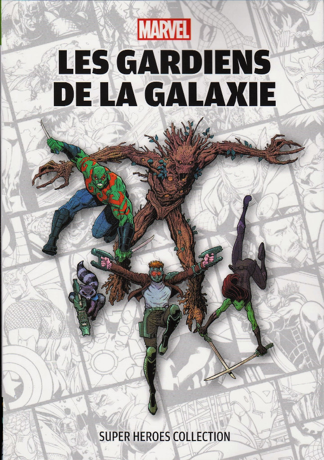 Couverture de Super Heroes Collection -7- Les gardiens de la galaxie